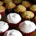 Zucchini spice cupcakes